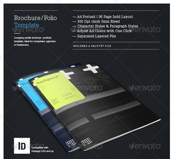 Brochure Portfolio Template