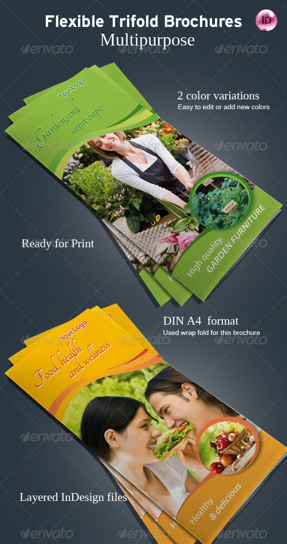 Flexible Tri-Fold Brochure