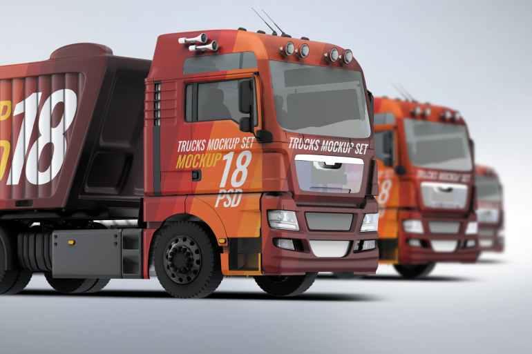Trucks Mock-Up