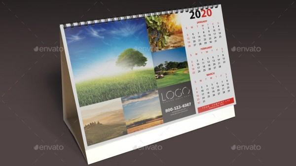 Desk Calendar Mockups