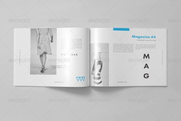 Horizontal Magazine Mock-up II