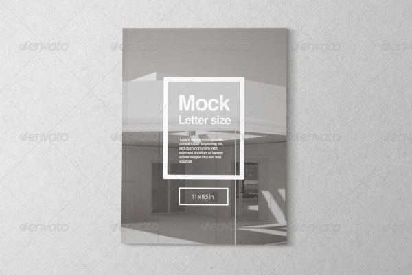 Letter Magazine Mock-up