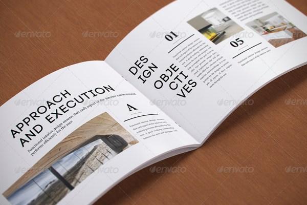 Photorealistic a5 Horizontal Magazine Mock-up