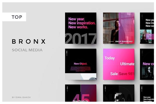 BRONX Social Media + Bonus