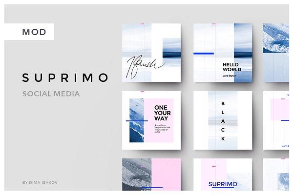 SUPRIMO Social Media + Bonus