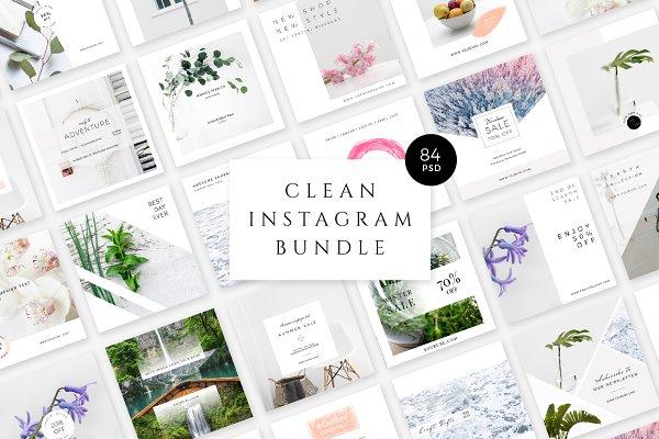 Clean Instagram Bundle