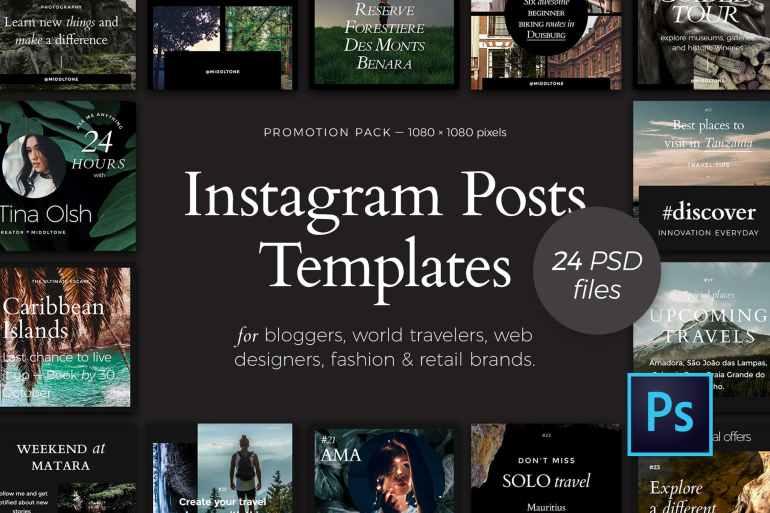 Instagram Posts — Promotion Pack