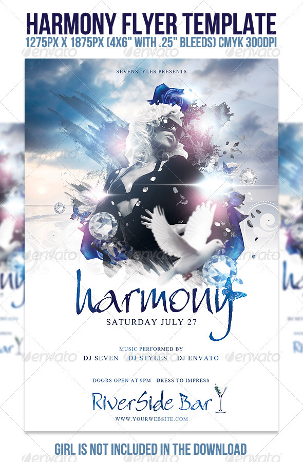 Harmony Flyer Template