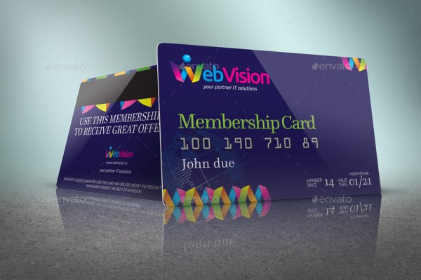 Membership Card/Credit Card Mockup