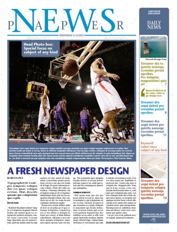 NEWSPAPER 16 pages