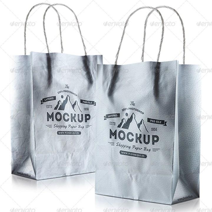 best shopping bag psd template