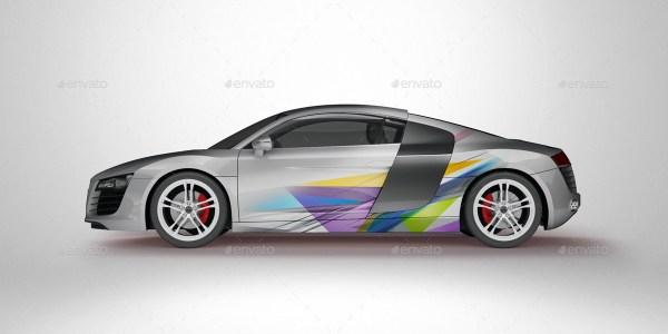 Super Car Mockup