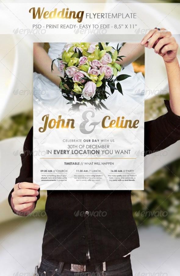 Wedding - Flyer Template