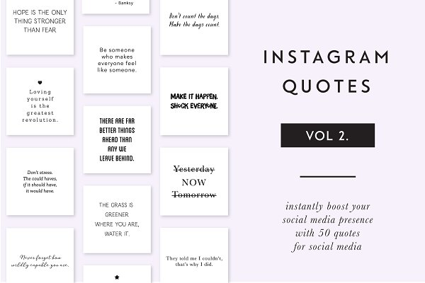 Instagram Essential Quotes - vol 2.