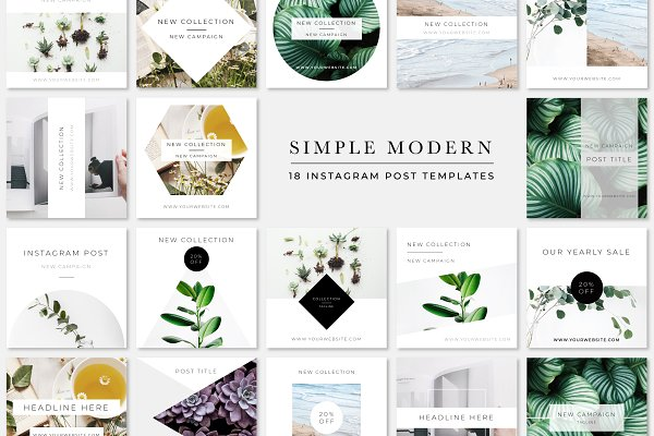 Simple Modern Instagram Pack