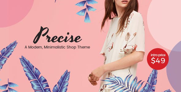 Precise - A Modern, Minimalistic Shop Theme