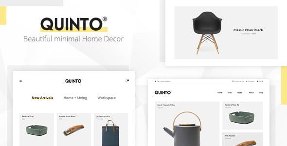 Quinto - Beautiful Minimal WooCommerce WordPress Theme
