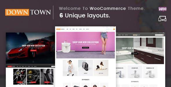 Down Town - Multipurpose WooCommerce Theme