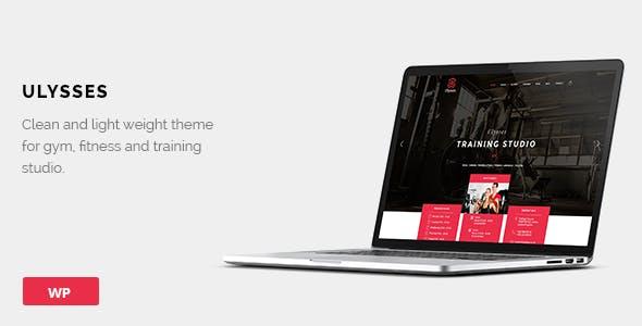 Ulysses | Gym Fitness WordPress Theme