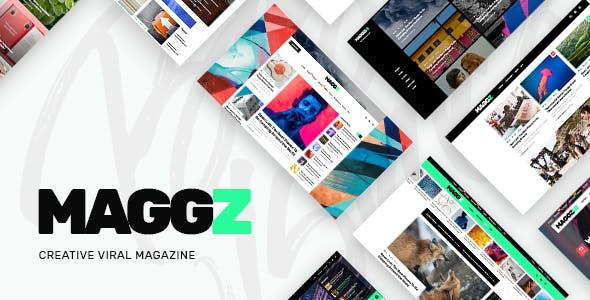 Maggz - A Creative Viral Magazine and Blog Theme