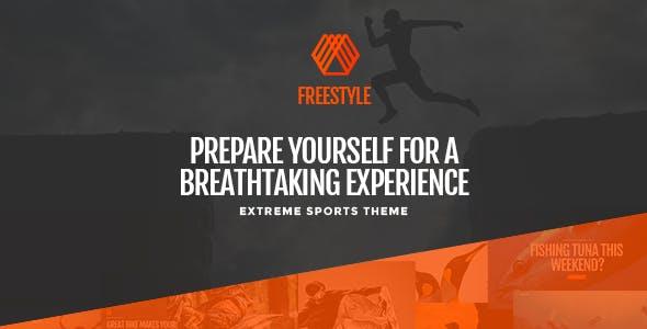 Freestyle - A WordPress Theme For Extreme Sports