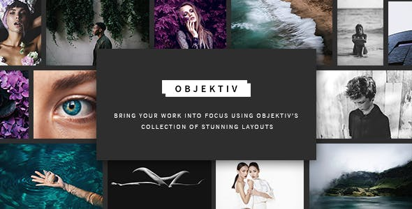 Objektiv - A Contemporary and Clean Photography Theme