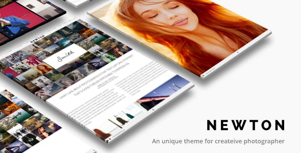 Photography WordPress | Newton Theme for Photography