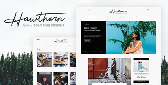 Hawthorn - A WordPress Blog & Shop Theme