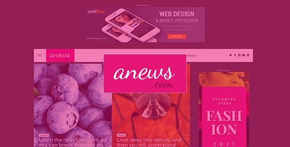 aNews - WordPress Theme for Magazine and Blog