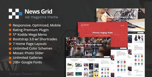 News Grid - WP Magazine Theme