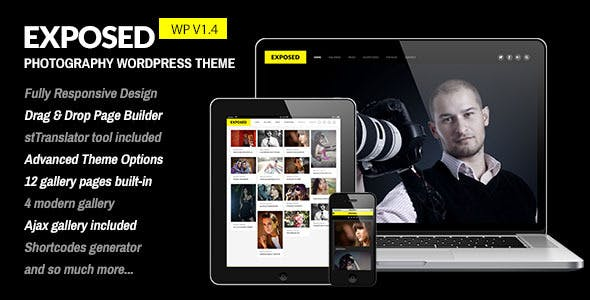 Exposed - Responsive WordPress Photography Theme