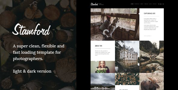 Stamford – Photography Portfolio WordPress Theme