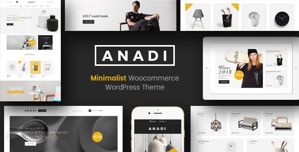 Anadi - WooCommerce Furniture WordPress Theme
