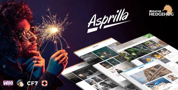 Asprilla - a Multi-Concept Blog Theme For WordPress