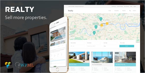 Realty - Real Estate WordPress Theme
