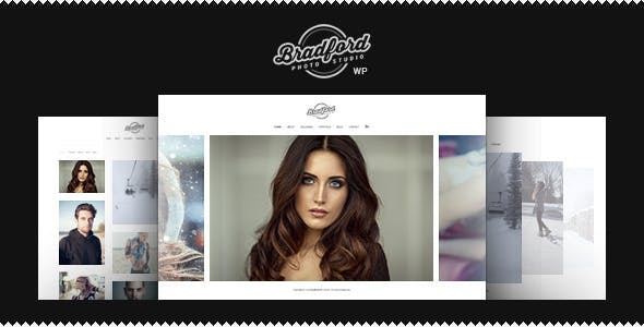 Bradford - Photographer Portfolio WordPress Theme