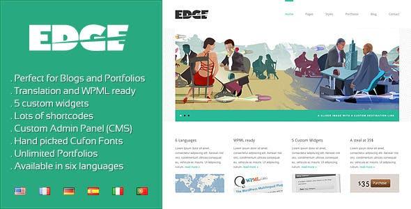 Edge - Professional Corporate and Portfolio WP