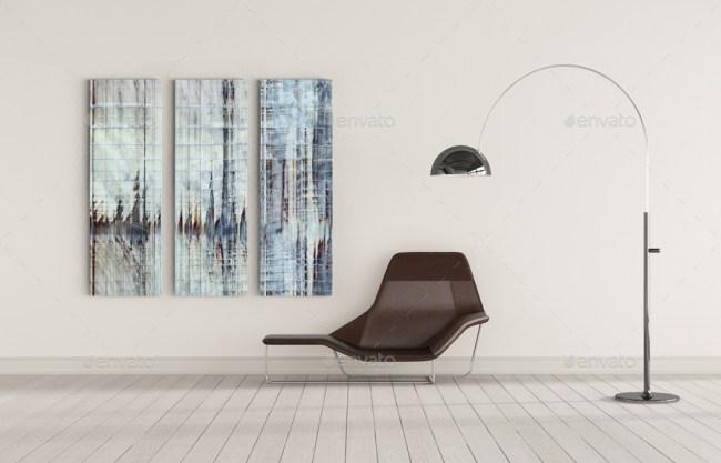 Art Wall Mock-up Vol.4