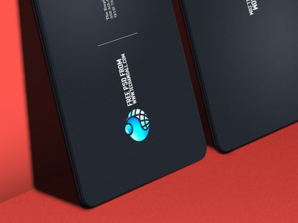 Business card Showcase Mockup