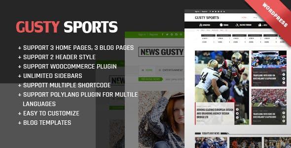 Gusty Magazine WordPress theme