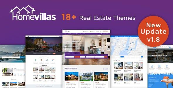 Home Villas | Real Estate WordPress Theme