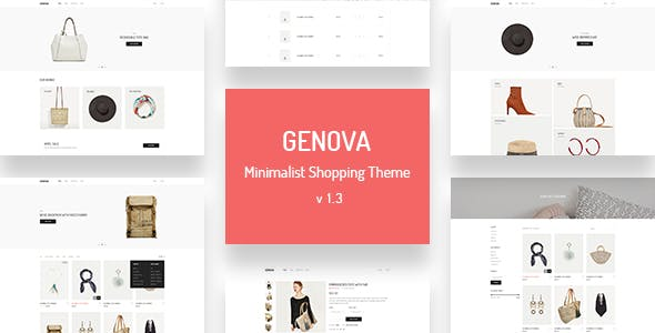 Genova - Minimalist AJAX WooCommerce WordPress Theme
