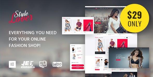 SolosShopy - Fashion Shop WooCommerce Theme