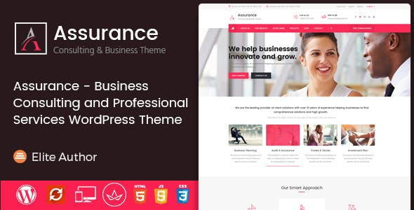 Assurance - Business Consulting and Professional Services WordPress Theme