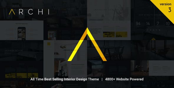 Archi - Interior Design WordPress Theme