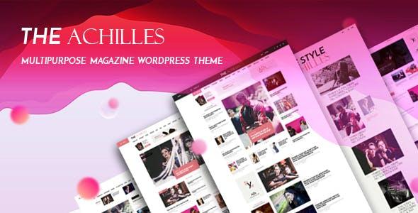Achilles - Multipurpose Magazine & Blog WordPress Theme
