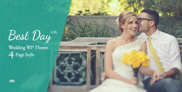 Wedding | Best Day Wedding Theme