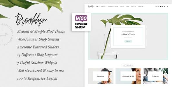 Bklyn - WordPress Blog Theme