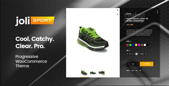 joli-sport - Progressive WooCommerce Theme