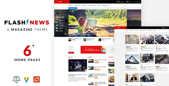 Flash News - Responsive News Theme